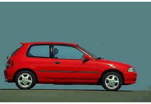 DAIHATSU Charade I hatchback czerwony jasny boczny prawy