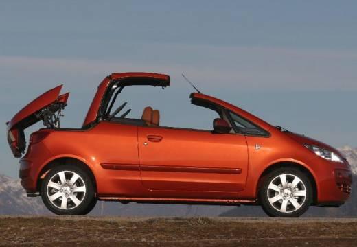 MITSUBISHI Colt CZC kabriolet pomarańczowy boczny prawy