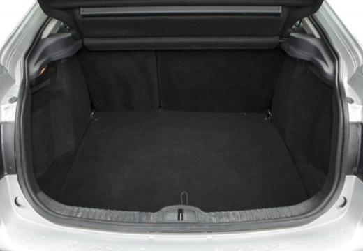 RENAULT Laguna II II hatchback przestrzeń załadunkowa