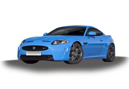 JAGUAR XK II coupe niebieski jasny