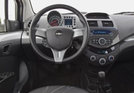CHEVROLET Spark II hatchback zielony tablica rozdzielcza