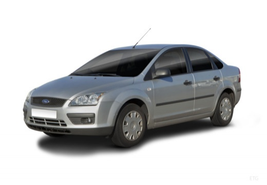 FORD Focus III sedan silver grey
