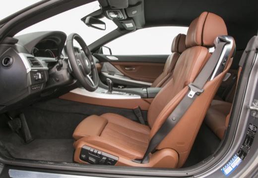 BMW Seria 6 kabriolet wnętrze