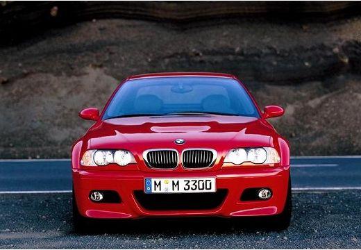 BMW Seria 3 coupe czerwony jasny przedni