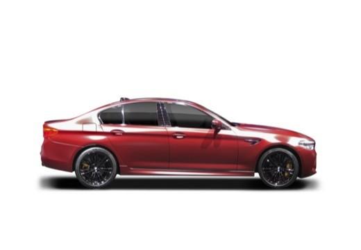 BMW Seria 5 G30 sedan boczny prawy