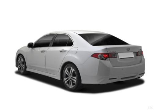 HONDA Accord VIII sedan biały tylny lewy
