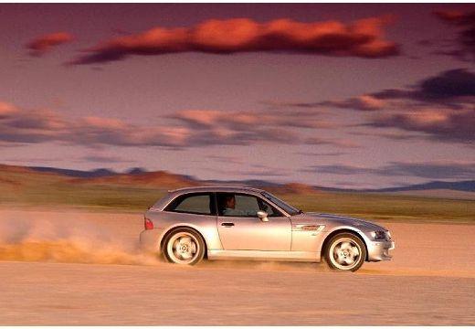 BMW Z3 coupe silver grey boczny prawy