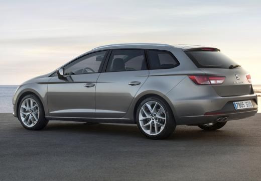 SEAT Leon ST I kombi silver grey tylny lewy