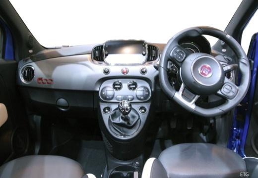 FIAT 500 C II kabriolet tablica rozdzielcza