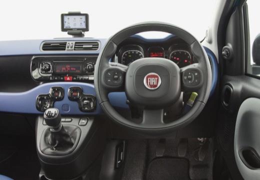FIAT Panda III hatchback niebieski jasny tablica rozdzielcza