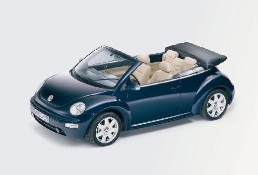 VOLKSWAGEN New Beetle kabriolet niebieski jasny przedni lewy
