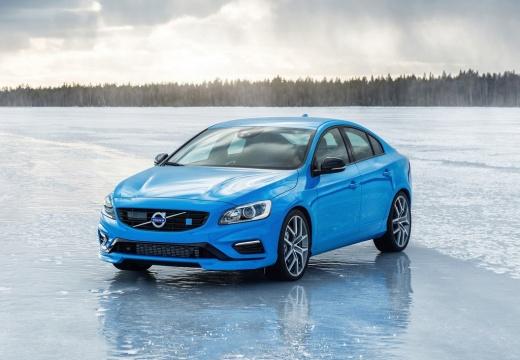 VOLVO S60 V sedan niebieski jasny przedni lewy