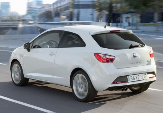 SEAT Ibiza VI hatchback biały tylny lewy