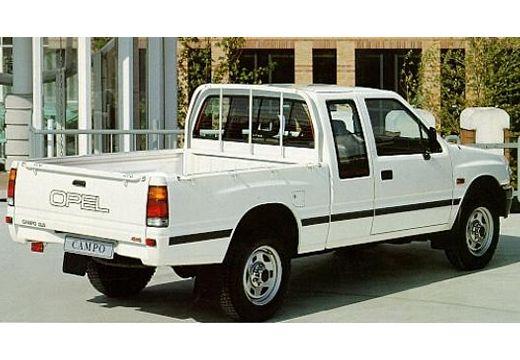 OPEL Campo pickup biały tylny prawy