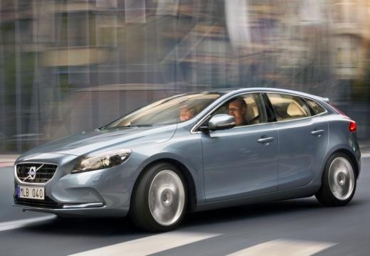 VOLVO V40 IV hatchback silver grey przedni lewy