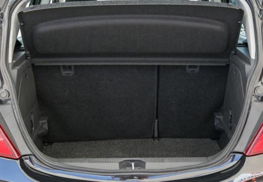OPEL Corsa D I hatchback czarny przestrzeń załadunkowa