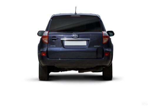 Toyota RAV4 V kombi niebieski jasny tylny