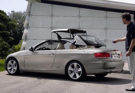 BMW Seria 3 Cabriolet E93 I kabriolet silver grey szczegółowe opcje
