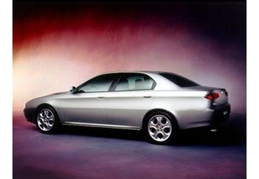 ALFA ROMEO 166 sedan silver grey tylny lewy
