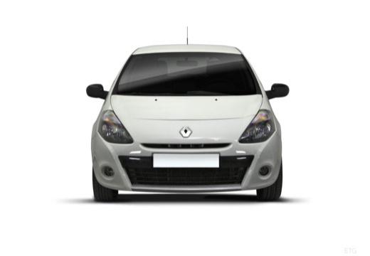 RENAULT Clio III II hatchback biały przedni