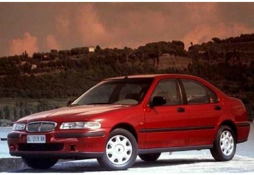 ROVER 400 sedan bordeaux (czerwony ciemny) przedni lewy
