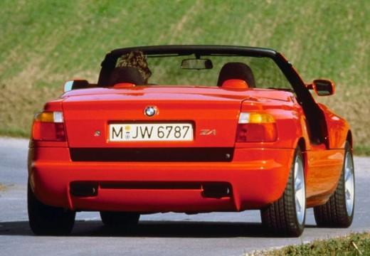 BMW Z1 roadster czerwony jasny tylny