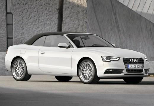 AUDI A5 kabriolet biały przedni prawy
