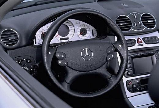 MERCEDES-BENZ Klasa CLK CLK Cabriolet A 209 I kabriolet silver grey tablica rozdzielcza