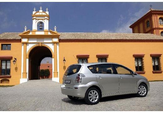 Toyota Corolla kombi mpv silver grey tylny prawy