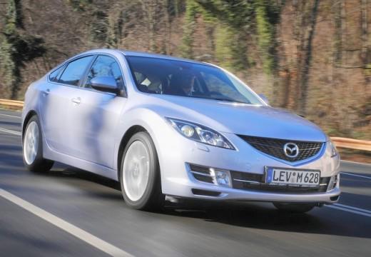 MAZDA 6 III hatchback silver grey przedni prawy