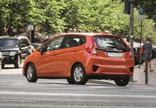 HONDA Jazz IV hatchback pomarańczowy tylny lewy