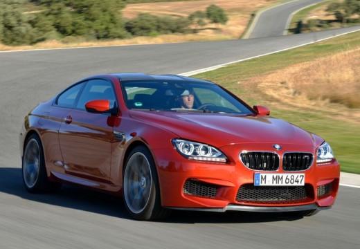 BMW Seria 6 F13 I coupe czerwony jasny przedni prawy