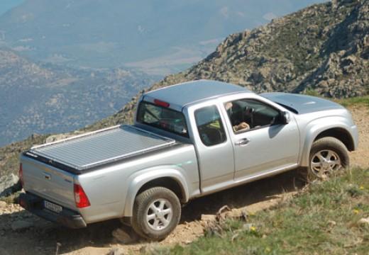 ISUZU D-Max I pickup silver grey tylny prawy