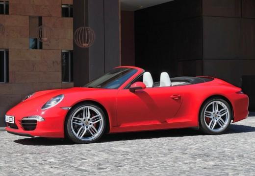 PORSCHE 911 kabriolet czerwony jasny przedni lewy