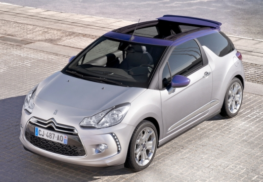 CITROEN DS3 1.2 VTi Chic Kabriolet Cabrio 82KM (benzyna)