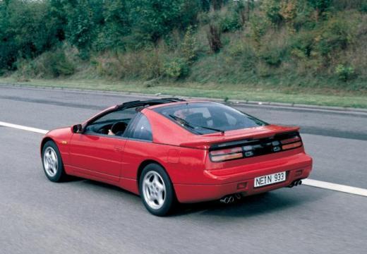 NISSAN 300 ZX targa czerwony jasny tylny lewy