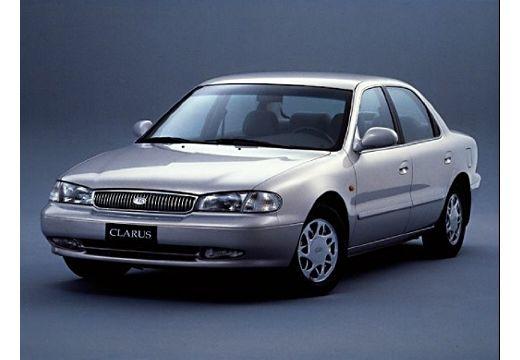 KIA Clarus sedan silver grey przedni lewy