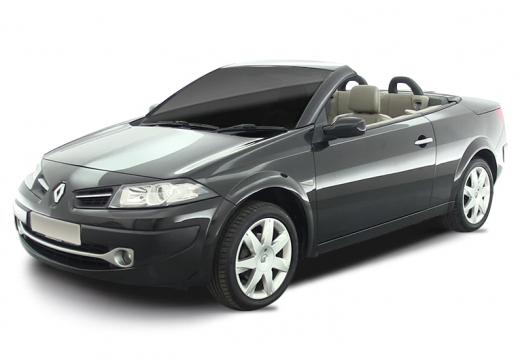 RENAULT Megane II CC kabriolet czarny
