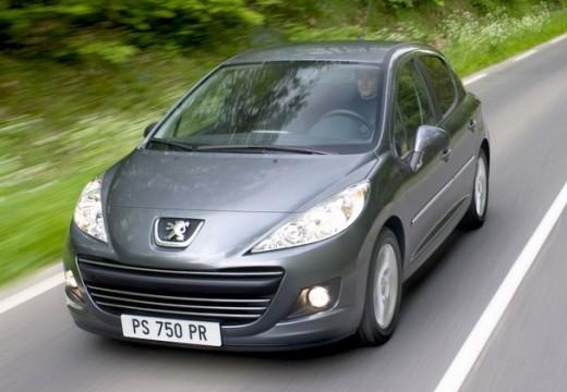 PEUGEOT 207 II hatchback szary ciemny przedni lewy