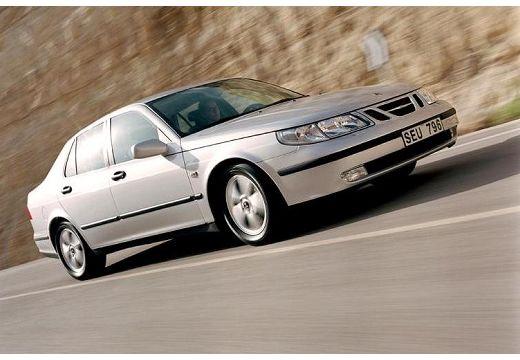 SAAB 9-5 II sedan silver grey przedni prawy