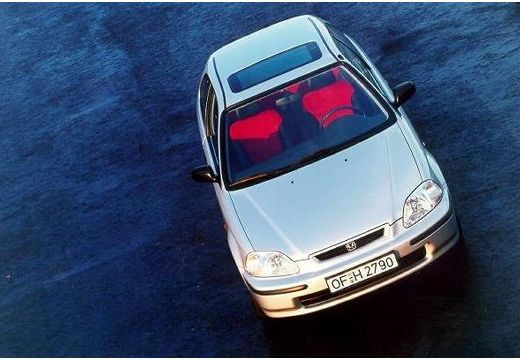 HONDA Civic III hatchback silver grey przedni
