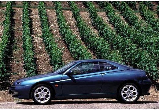 ALFA ROMEO GTV coupe zielony boczny lewy