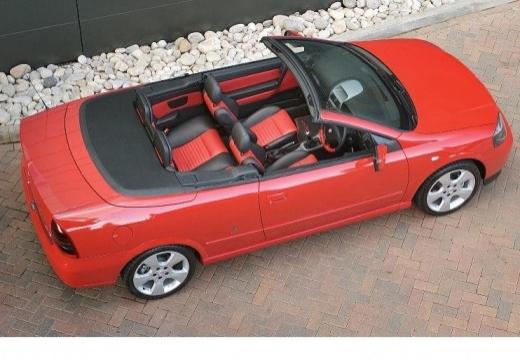 OPEL Astra II Cabriolet kabriolet czerwony jasny górny tylny