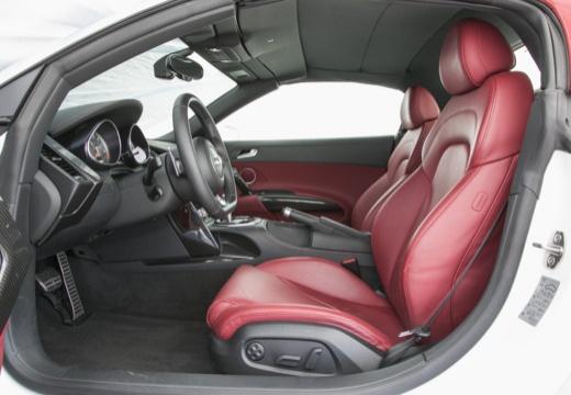 AUDI R8 Spyder II roadster biały wnętrze