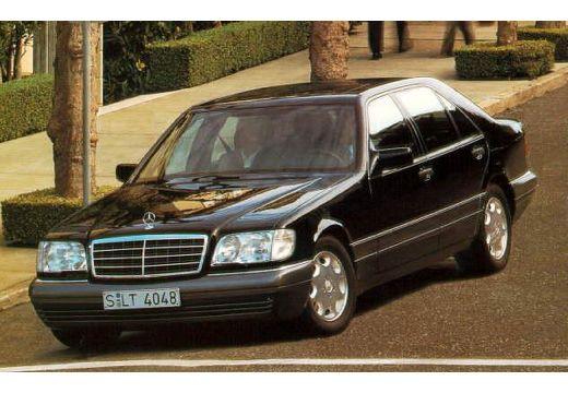 MERCEDES-BENZ Klasa S W140 II sedan przedni lewy
