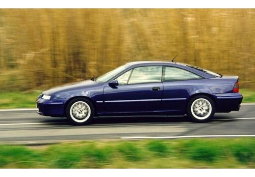 OPEL Calibra coupe fioletowy boczny lewy