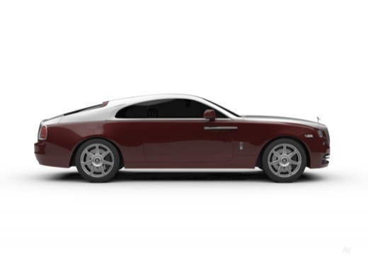 ROLLS-ROYCE Wraith coupe boczny prawy