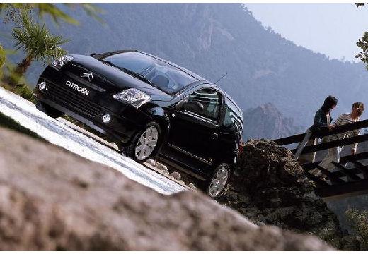 CITROEN C2 hatchback czarny przedni lewy
