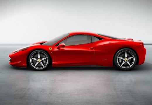 FERRARI 458 I coupe czerwony jasny boczny lewy