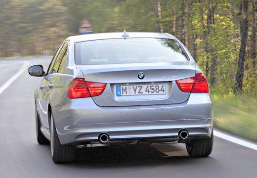 BMW Seria 3 E90 II sedan szary ciemny tylny lewy